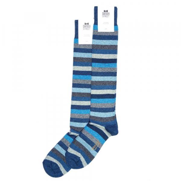Calzino classics righe blu Stripes Blu 681-1