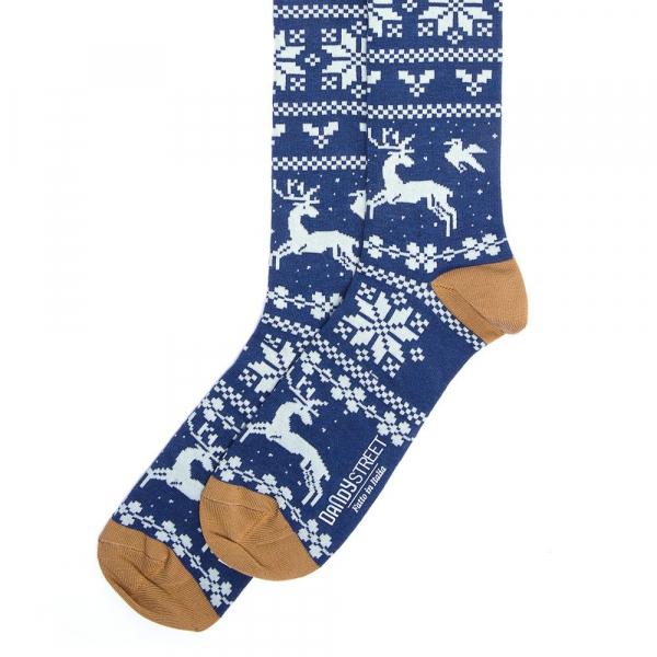 Calzini uomo Blue Christmas 687-6